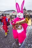 2017 Bazel Carnaval Stock Foto
