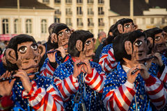 Bazel Carnaval stock fotografie