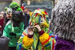 Bazel Carnaval 2017 royalty-vrije stock afbeelding