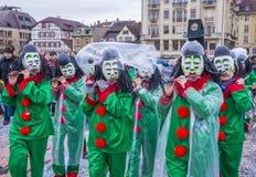 2017 Bazel Carnaval Stock Fotografie