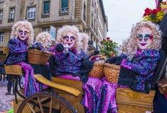 2017 Bazel Carnaval Stock Afbeeldingen