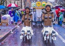 2017 Bazel Carnaval Stock Foto's