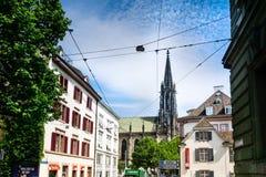 Bazel, Zwitserland stock fotografie