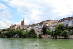Bazel in Zwitserland stock fotografie