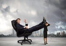 Bazige zakenman Stock Foto's