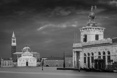 Bazilica Сан Giorgio Maggiore в Венеции Стоковые Фотографии RF