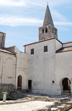 bazilika Croatia eufrazijeva porec zdjęcia stock