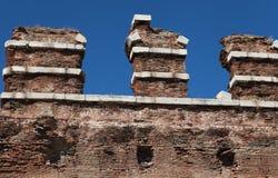 Bazilika, Redhall w Pergamon, Smyrna. Obraz Stock