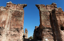 Bazilikaen, Redhall, i Pergamon, Smyrna. Arkivfoton
