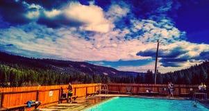 Bazine en montagnes Photographie stock libre de droits
