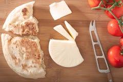 Bazlama-Frühstück Lizenzfreies Stockbild