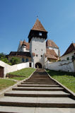 Bazna Festung Stockfotografie