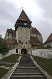 Bazna fortified church Stock Photos