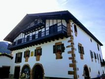 Baztán Navarra fotografía de archivo libre de regalías
