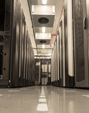 Bazy danych centrum z serwerami Zdjęcie Royalty Free