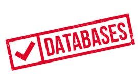 Bazy danych pieczątka Obraz Stock