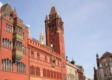 bazylei cityhall Zdjęcie Royalty Free