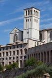 Bazylika Świątobliwy Francis, Assisi obrazy royalty free