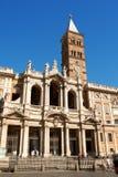 Bazylika Świątobliwy Mary Specjalizuje się w Rzym Zdjęcia Royalty Free