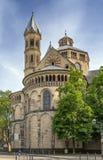 Bazylika Święci apostołowie, Kolonia, Niemcy Zdjęcie Stock
