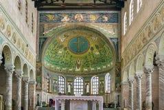 Bazylika święty Apollinaris w Classe, Włochy Zdjęcia Stock