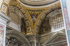 Bazylika święty Peter, watykan, Watykan Obrazy Stock