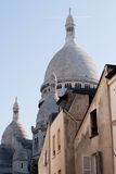Bazylika Święty serce, Paryż, Francja Fotografia Royalty Free
