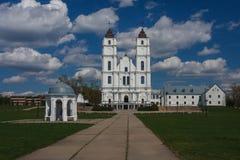 Bazylika Aglona, Latvia Fotografia Royalty Free