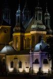 Bazylika Archikatedralna św. Apostołów Piotra i Pawła, Poznan. Main cathedral in Poznan based on island Stock Photography
