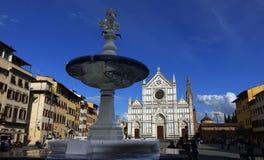bazylika Croce Di Santa Fotografia Stock