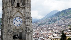 bazylika Del Nacional Quito Voto zdjęcie royalty free