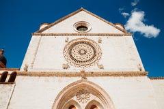 Bazylika Di San Francesco w Assisi, Włochy Obraz Stock