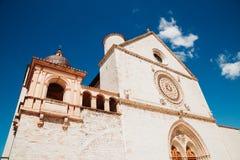 Bazylika Di San Francesco w Assisi, Włochy Obrazy Royalty Free
