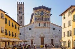 Bazylika Di San Frediano, Lucca - Zdjęcie Royalty Free