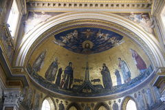 Bazylika Di San Giovanni w Laterano Zdjęcia Royalty Free