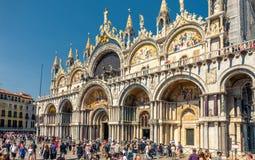Bazylika Di San Marco w Wenecja, Włochy zdjęcia stock