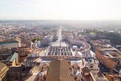 Bazylika Di San Pietro w Watykan Zdjęcia Stock