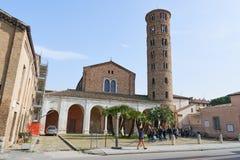 Bazylika Di Sant' Apollinare Nuovo Zdjęcie Royalty Free