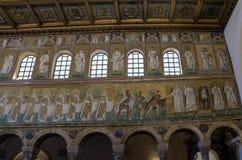 Bazylika Di sant'Apollinare Nuovo, Włochy Fotografia Stock