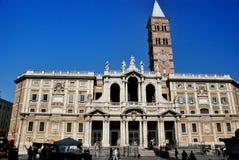 Bazylika Di Santa Maria Maggiore w Rzym, Włochy zdjęcie royalty free
