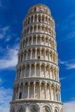 Bazylika i oparty wierza w Pisa Włochy obraz royalty free