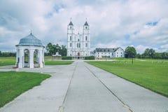 Bazylika, kościół przy Latvia Zdjęcia Stock