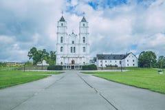 Bazylika, kościół przy Latvia Zdjęcie Royalty Free