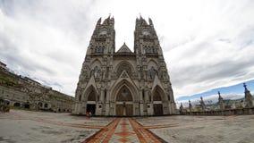 Bazylika Krajowy ślubowanie, Quito obrazy stock