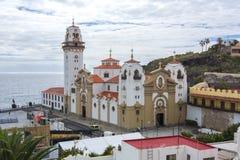 Bazylika Nasz dama Candelaria, Tenerife, wyspy kanaryjska, Hiszpania Obraz Stock