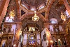Bazylika Parroquia Kościelny San Miguel De Allende Meksyk zdjęcie royalty free