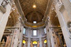 bazylika Rzymu Obrazy Stock