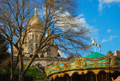 Bazylika Sacre Coeur Paryż Obraz Stock