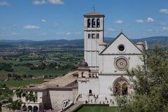 Bazylika San Francesco Assisi Fotografia Stock