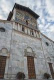 Bazylika San Frediano, lokalizująca na piazza San Frediano w Lucca, Włochy Zdjęcie Stock
